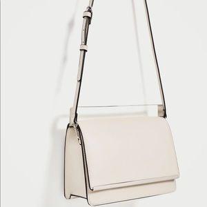 LAST CHANCE! Zara Crossbody bag with metal detail